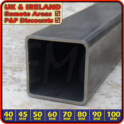 Mild Steel Square Tube ║ 40 x 40 mm ║ box section iron,profile,tubing,pipe