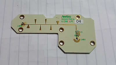 Low Pass RF Filter Anritsu Spectrum Analyser Part 332U
