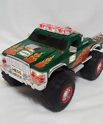 2007 Hess Toy Truck 4x4 Monster Truck NO motorcycles pre-owned good condition