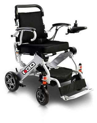 Pride I-Go Compact Folding Electric Powerchair Wheelchair 2 x lithium batteries