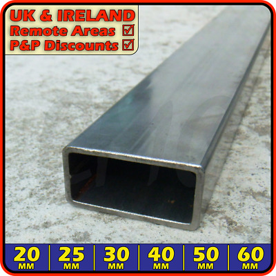Mild Steel Rectangular Tube ║ 40 x 20/25 mm ║ box section iron,tubing,pipe