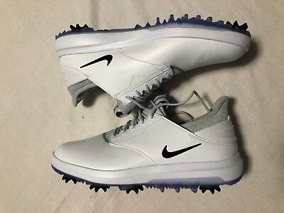 642f74b8b4fc46 Nike Men's Air Zoom Direct Golf Shoes Size 10 923965-100 White NO BOX LID
