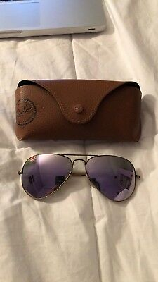 Ray-Ban Women's Aviator Lilac Flash Bronze-Copper Frame Rb3025 167/1R