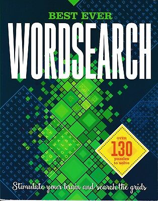 Best Ever Wordsearch Puzzle Book. Igloo Books Travel Games Entertainment Gift A5