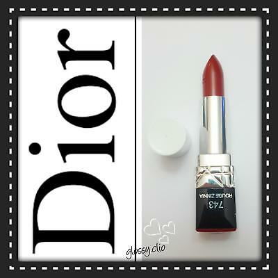 Christian Dior Rouge rossetto n.743 col. rosso intenso. Nuovo!