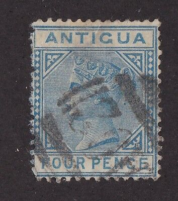 Antigua stamp #10, Used, QV, 1873, nice color & centering, CV $21