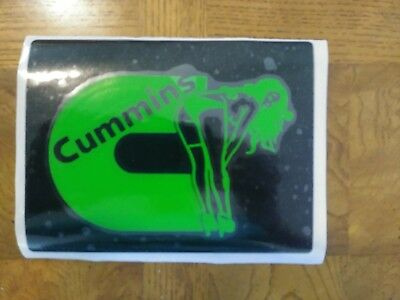 Dodge Cummins Window Decal Sticker With Hot Chick