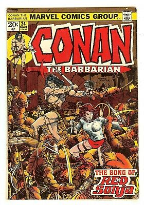 Conan The Barbarian 24   1st full Red Sonja story
