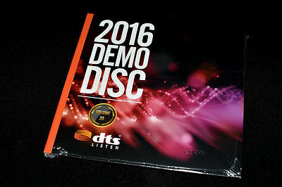 New! DTS X, HD-MA Master Audio 7.1 Demo #20 Genuine Blu Ray Disc CES 2016 Sealed