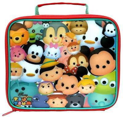 Disney Tsum Tsum insulated sandwich lunch bag box. - Brand new with tags!