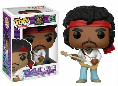 Funko Pop Rocks Purple Haze Properties Jimi Hendrix 54
