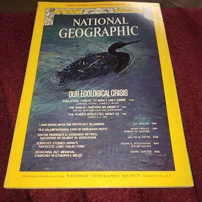 National Geographic Magazine  December 1970 OUR ECOLOGICAL CRISIS