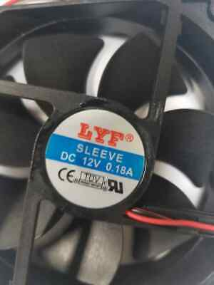 NEW 90mm x 25mm DC 12V 2Pin Cooling Fan for Computer Case CPU Cooler and GPU Min