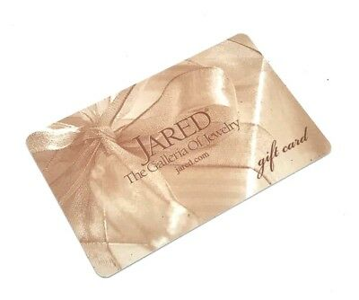 500 JARED Gift Card 123232 45000 PicClick