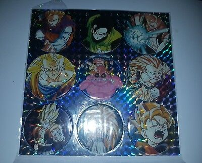 lot pogs dragon ball z