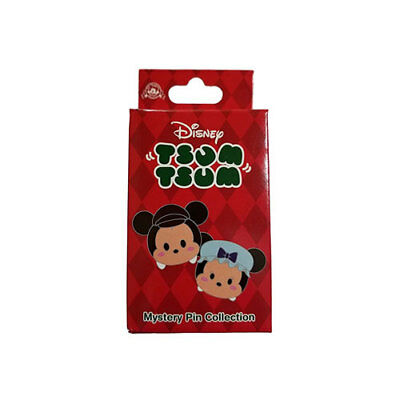 Disney Parks Tsum Tsum Holiday Christmas Mystery Collection Pin Box