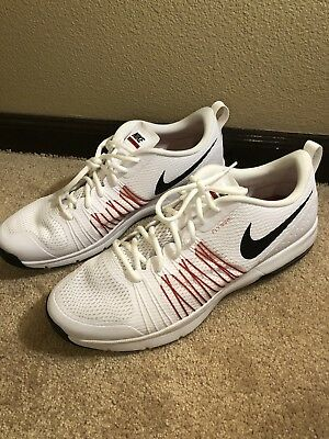 c2a613cb7b Nike Air Max 705353-106 Men's Sneakers White Black Red Size 13 Training  Shoes