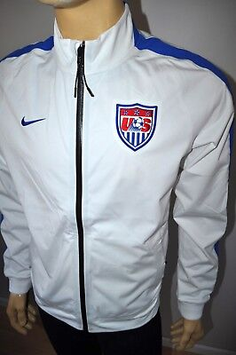 5354de9cf NEW NIKE USA SOCCER N98 FULL ZIP TRACK JACKET FIFA WORLD CUP Sz M 624758 100