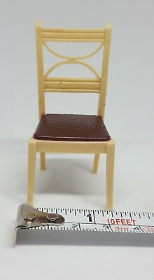 Vintage 1950s MCM Mid Century Modern Chair Dollhouse Furniture Chair  Pre Owned