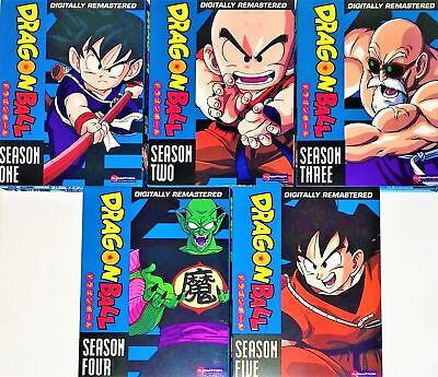 Dragon Ball The Complete Series Seasons 1,2,3,4,5 New
