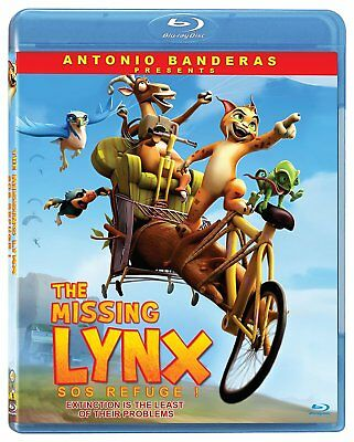 NEW BLU RAY - THE MISSING LYNX - Raul Garcia Manuel Sicilia - Antonio Banderas