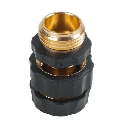 1 Pair x Garden Hose Connector Quick Connect Fitting Pipe 3/4 Hose-Water Ho O2E8