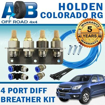 4 PORT DIFF BREATHER KIT for HOLDEN COLORADO RG ALL MODELS