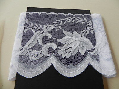Card of Beautiful New Wide Lace - White