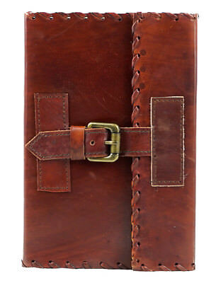 New Handmade Leather Journal Dairy Notebook Travel Book Leather Book