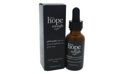 Philosophy When Hope Is Not Enough Night Restorative Serum 1 Oz