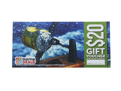 New Marine Deals $20 Gift Voucher with Sleeve - Game On Ships to NZ Only