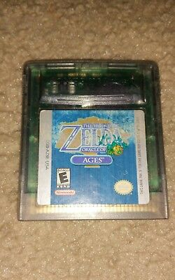 *the Legend Of Zelda: Oracle Of Ages Nintendo Gameboy Color Gbc Game