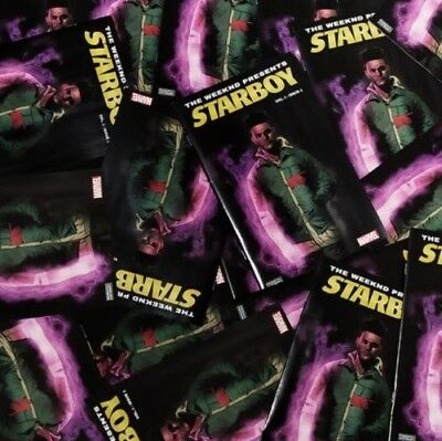 MARVEL THE WEEKND Starboy Vol 1 Iss 1 Comic Book Rare Variant Cover Limited