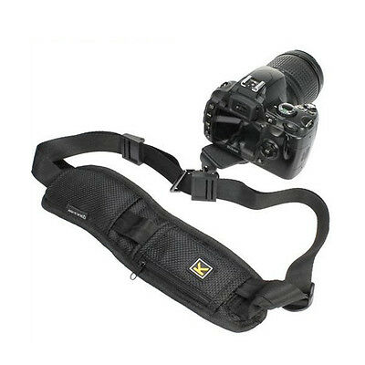 BLACK Quick Rapid Single Neck Shoulder Sling Strap Belt for Digital Camera DSLR