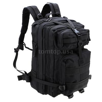 45L Military Tactical Backpack Molle Rucksacks Camping Hiking Trekking Bag W9L4