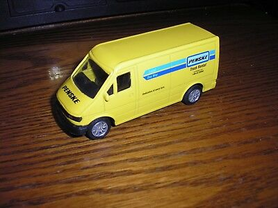 "1/55 ? 4"" Penske Rental Truck Ford Transit ? Delivery Panel Van"