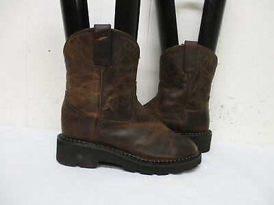Smoky Mountain Brown Leather Cowboy Boots Youth Size 1.5 D Style 3435c Kids' Clothing, Shoes & Accs