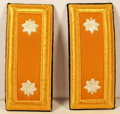 US Army LT COL Lieutenant Colonel Armor Male Shoulder Boards for Dress Blues 1