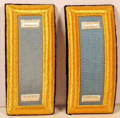 US Army 1st LT First Lieutenant Infantry Male Shoulder Boards for Dress Blues
