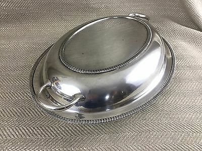 Rare Waring & Gillow Entree Dish Silver Plate Serving Bowl Antique C 1900s