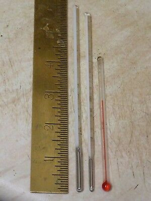 3 USEFUL OLD BAROMETER THERMOMETERS- WORKING (th)
