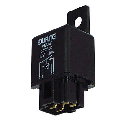 DURITE 0-728-62 5 PIN RELAY 12V 20//30A AMP A TYPE WITH BRACKET DAF,MAN,ETC