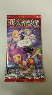 1x Force of Will - FOW - TCG - Sealed Booster Pack - Battle for Attoractia