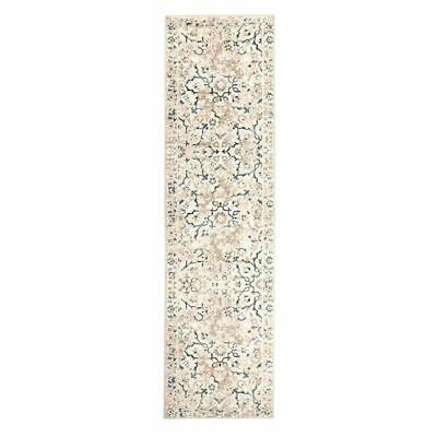 NEW Rug Culture Nove Oriental Runner Rug, Bone