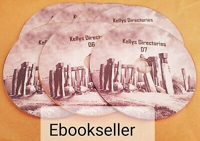 ebooks: 40 of Kellys directories genealogy for England & Wales in pdf on disc