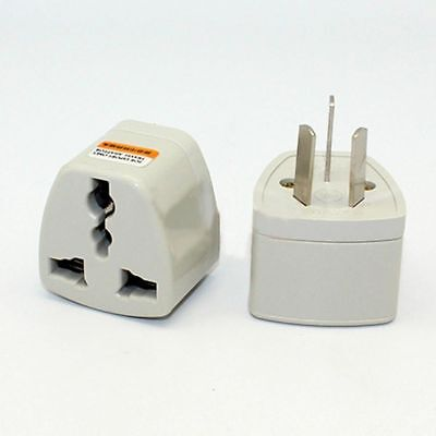 UK/US/EU/AU to AU Plug AC Power Socket Travel Home Charger Adapter Converter