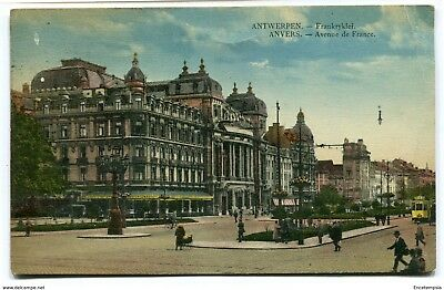 CPA - Carte postale-Belgique-Anvers - Avenue de France - 1925 (CP2647)