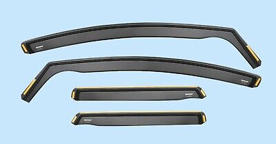 FOR BMW X3 MK1 E83 2005-2010 5-doors 4-pc Wind Deflectors ISPEED Tinted