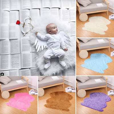 Hot baby photo props backdrop newborn photography soft fur quilt mat blanket rug