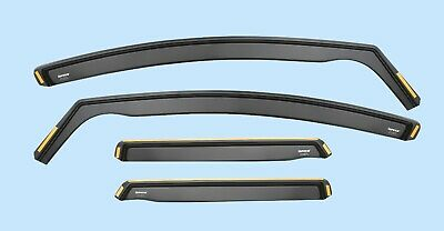 FOR BMW 5 F10 Saloon 4-doors 2010-2017 4-pc wind deflectors ISPEED Tinted SunVis